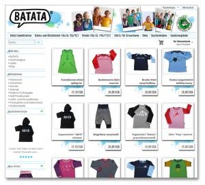 Batata - Online-Shop