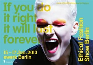 Ethical Fashion Show - Januar 2013