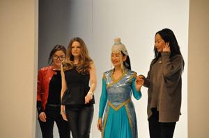 edelziege Fashion-Show - Gruppenbild