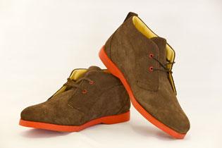 ekn footwear - desert brown / red sole