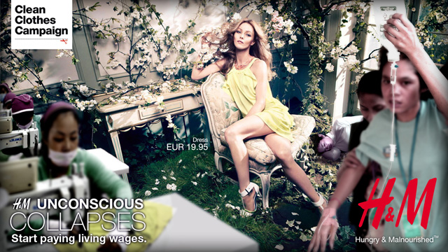 Clean Clothes Campaign: H&M - Unconscious Collection