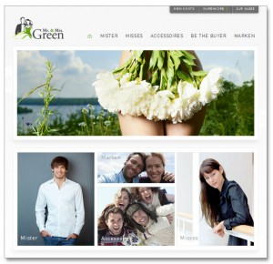 Mr. & Mrs. Green Online-Shop