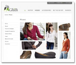 Mr. & Mrs. Green Online-Shop - Misses