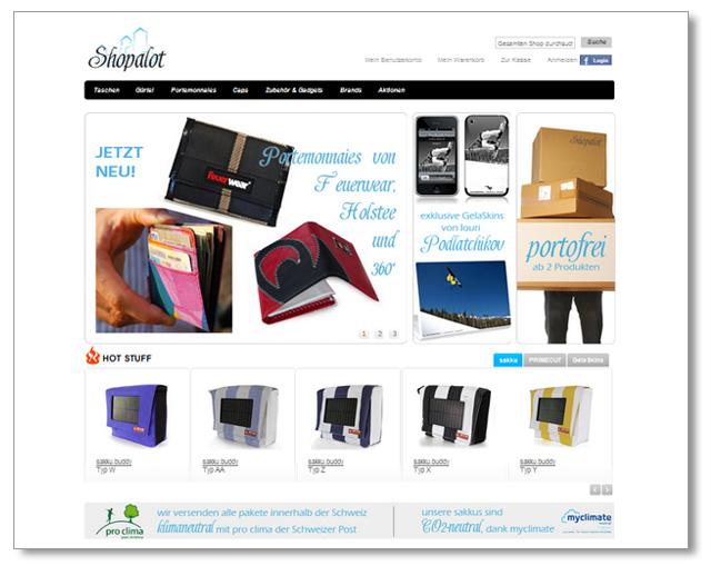 Shopalot - Online-Shop