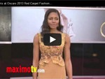 Video: Skyfall-Star Naomie Harris kam im eleganten Öko-Kleid zur Oscar-Verleihung