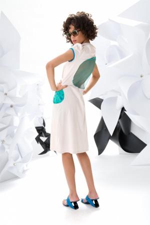Göttin des Glücks - Kleid aus der Sommerkollektion 2013
