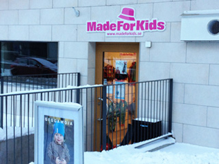 MadeForKids Laden