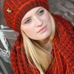 meinfrollein - Schal und Mütze (Serie Naomi)