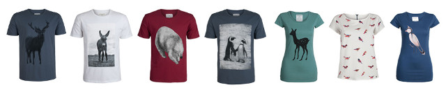 Armedangels Shirts mit Animal-Prints