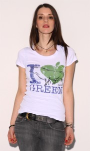 Cantana - I Love Green T-Shirt