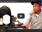Pharrell Williams und Tyson Toussant erklären das Konzept von Bionic Yarn