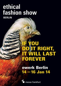 Ethical Fashion Show Berlin - Januar 2014