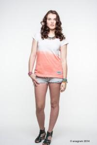 anagram - T-Shirt Dip Dye