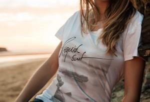 bleed - Kollektion Liquid Surf (Female T-Shirt)