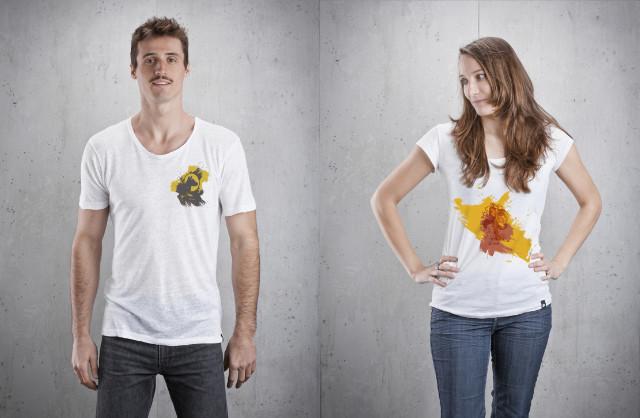 GREEN SHRTS - Tunic Glück und Treue Shirts