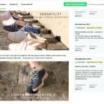 Kickstarter Slowers Kampagne
